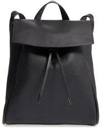 Skagen - Ebba Leather Backpack - Lyst