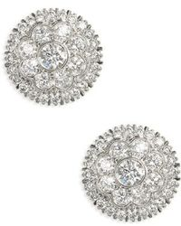 Kwiat - Diamond Stud Earrings - Lyst
