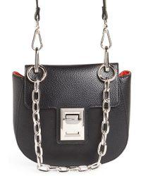 Steve Madden - Draped Chain Faux Leather Crossbody Bag - Lyst