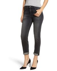 Current/Elliott - The Fling High Waist Boyfriend Jeans - Lyst