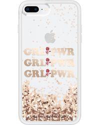 Rebecca Minkoff - Grl Pwr Glitterfall Iphone 7/8 & 7/8 Plus Case - Lyst