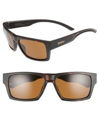 fa1f0d860e8 Outlier 2xl 59mm Polarized Sunglasses.  169. Nordstrom · Smith - Outlier 2  57mm Chromapop(tm) Square Sunglasses - Lyst