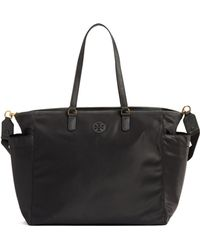 52349147c1aa Lyst - Burberry Madison Diaper Tote in Natural