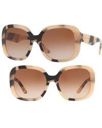 b7b54682903 Lyst - Burberry Eyeglasses Be 2243qf 3625 Boredaux Gradient