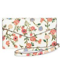 Kate Spade - Mini Bloom Iphone X Faux Leather Envelope Wristlet - Lyst