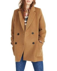 Madewell - Hollis Double Breasted Coat - Lyst
