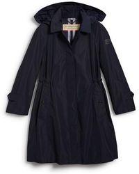 Burberry   Tringford Waterproof Hooded Coat   Lyst