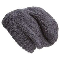 Barefoot Dreams - Barefoot Dreams 'cozy Chic' Slouch Beanie - Lyst