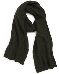 Ted Baker - Textured Knit Scarf - Lyst