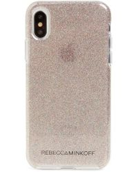 Rebecca Minkoff - Be More Transparent Iphone X Case - Lyst