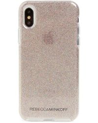 Rebecca Minkoff - Be More Transparent Iphone X & Xs Case - Lyst