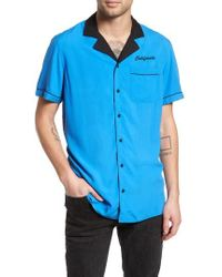 The Rail - Bowling Shirt - Lyst