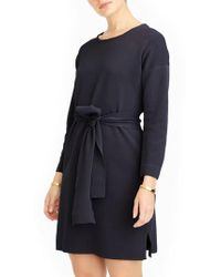 J.Crew | J.crew Tie Waist Knit Dress | Lyst