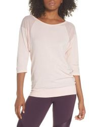 Sweaty Betty - Dharana Yoga Tee - Lyst