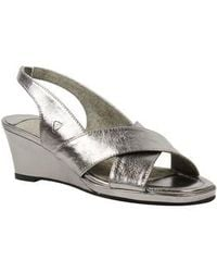 J. Reneé - Antoli Wedge Sandal - Lyst