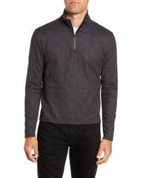 W.r.k. - Oscar Quarter Zip Slim Fit Sweater - Lyst