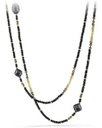 David Yurman - 'chatelaine' Necklace With 18k Gold - Lyst