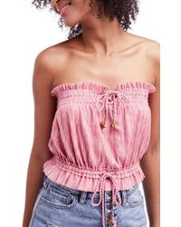 Free People - Peppermint Tube Top - Lyst