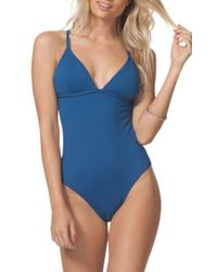 Rip Curl - Classic Surf Strappy Back One-piece Swimsuit - Lyst