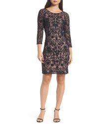 Pisarro Nights - Embroidered Cocktail Dress - Lyst