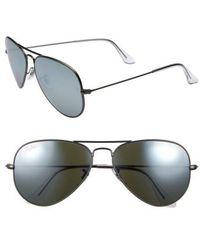 1ef91dce86 Lyst - Ray-Ban Original Aviator Sunglasses in Metallic for Men