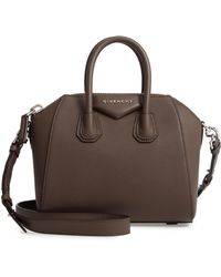Givenchy - 'mini Antigona' Sugar Leather Satchel - Lyst