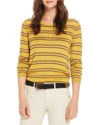 Scotch & Soda - Stripe Crewneck Sweater - Lyst