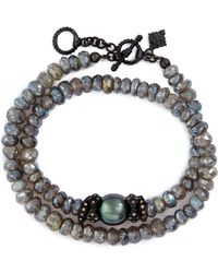 Armenta - Old World Mystic Double Wrap Bracelet - Lyst