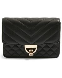 TOPSHOP - Prince Quilted Belt Bag - Lyst