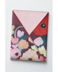 Anthropologie - Picturesque Florals Passport Holder - - Lyst