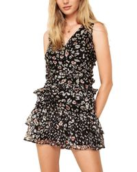f37e6e35ec3b Urban Outfitters. The East Order - Skye Tiered Ruffle Minidress - Lyst