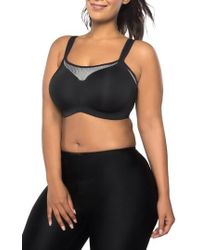 Curvy Couture - Ultimate Fit Underwire Sports Bra - Lyst