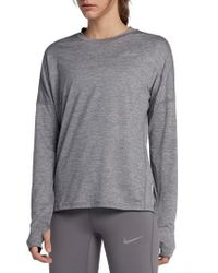 Nike - Dry Element Long Sleeve Top - Lyst