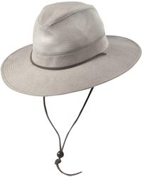 Dorfman Pacific - Brushed Twill Safari Hat - Lyst
