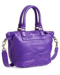 Liebeskind - 'vintage Arielle C' Satchel - Purple - Lyst