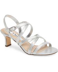Nina - Genaya Strappy Evening Sandal - Lyst