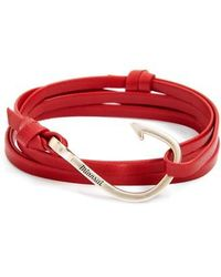 Miansai | Hook Leather Bracelet | Lyst