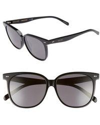 Céline - Special Fit 58mm Square Sunglasses - - Lyst