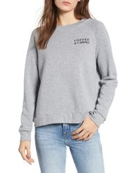 Project Social T - Reversible Graphic Sweatshirt - Lyst