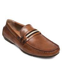 Steve Madden - Garvet Textured Driving Loafer - Lyst