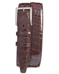 Torino Leather Company | Genuine American Alligator Leather Belt | Lyst