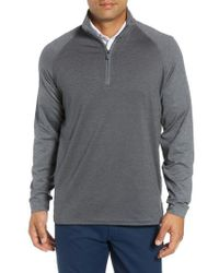 Bobby Jones - Xh2o Raglan Stripe Quarter Zip Pullover - Lyst