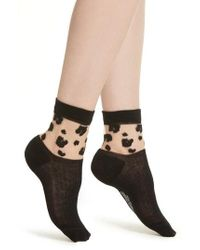 Richer Poorer - Cheeta Ankle Socks - Lyst