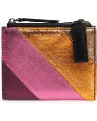 Kurt Geiger - Leather Mini Wallet - Lyst