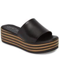 Sheridan Mia - Reesa Platform Slide Sandal - Lyst