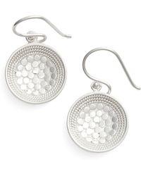 Anna Beck - Dish Drop Earrings - Lyst