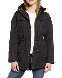 Barbour - 'arrow' Quilted Anorak - Lyst