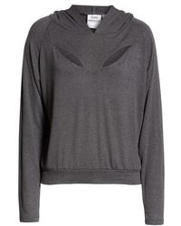 GOOD AMERICAN - The Cut-out Hoodie - Lyst