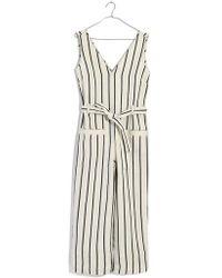 Madewell - Stripe Jumpsuit - Lyst