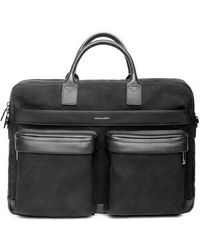 Hook + Albert - Canvas Laptop Briefcase - - Lyst